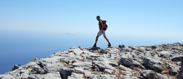 Hiking on Amorgos is great!