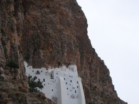 MONASTERY PANAGIA HOZOVIOTISSA from AMORGOS ON THE ROAD TO UNESCO