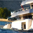 "Luxury Yacht ""Antalis"" got distressed in Aegiali Port"